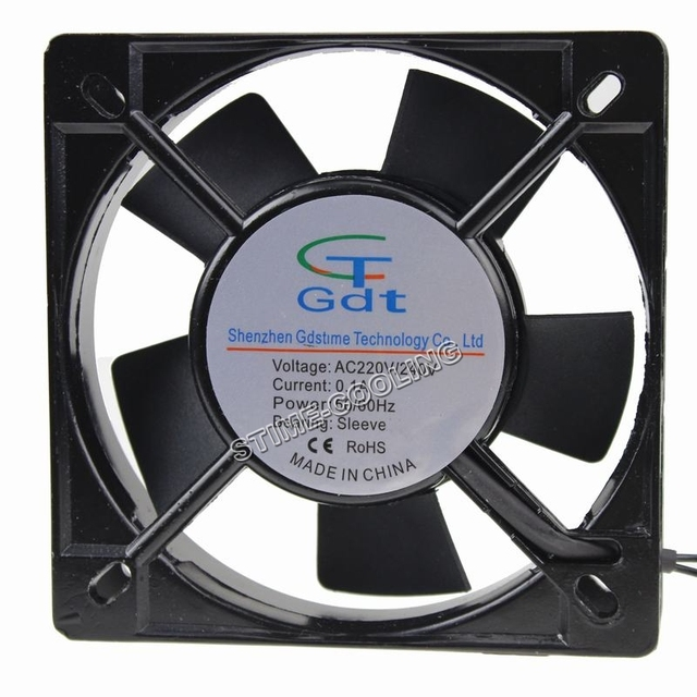 5 Pieces Ac Axial Flow Cabinet Cooling Fan 11025 110 25mm 220v For Electrical Products