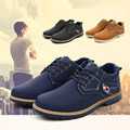Homens Ankle Boots de alta qualidade Forrado De Peles de Inverno Outono Quente Cadarço Martin Botas Sapatos