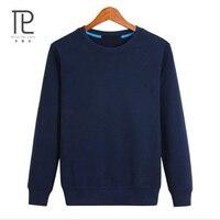 New Autumn Winter Fashion Men Hoodies Casual Cotton Thicken Fleece Male Pullover Tracksuit Mens Crewneck Sweatshirt