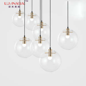Best Top Clear Glass Globe Pendant Light List