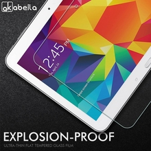цены на Tempered Glass For Samsung Galaxy Tab 4 10.1 LTE SM T530 T531 T535 T533 10.1 inch Screen Protector Protective Film  в интернет-магазинах