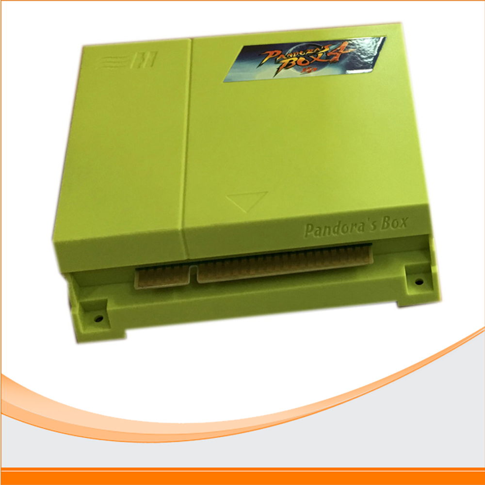 Arcade Jamma board made in China multi game pcb board 645 in 1 pandora's box 4 For Coin Operated Game Machine wms 550 casino game pcb gambling board 8 lines must use touch screen play the game support bill accepter for slot game machine