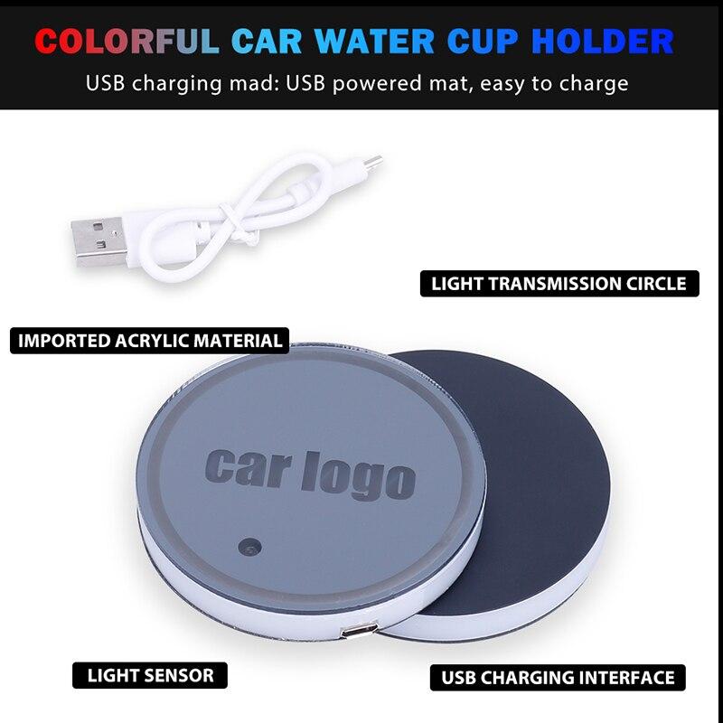 Car LED Cup Holder 1