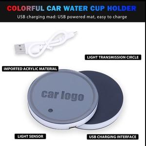 Image 2 - CARLitek voiture sous verres de bouteille 7 couleurs
