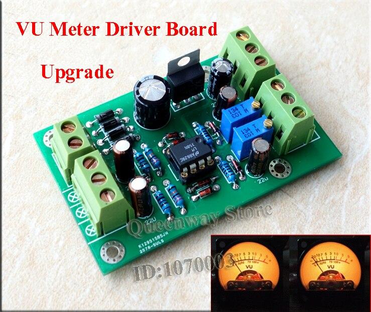 VU-Mètre Pilote Carte de Mise À Niveau TA7318P Pré-amplificateur/Tube Amp Châssis DB Level Meter