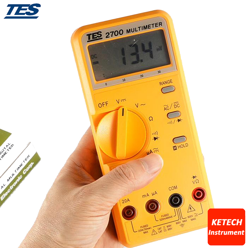 LCR Multimeter 3 1/2 LCD with Data-hold and Peak-hold Function TES2712 цены