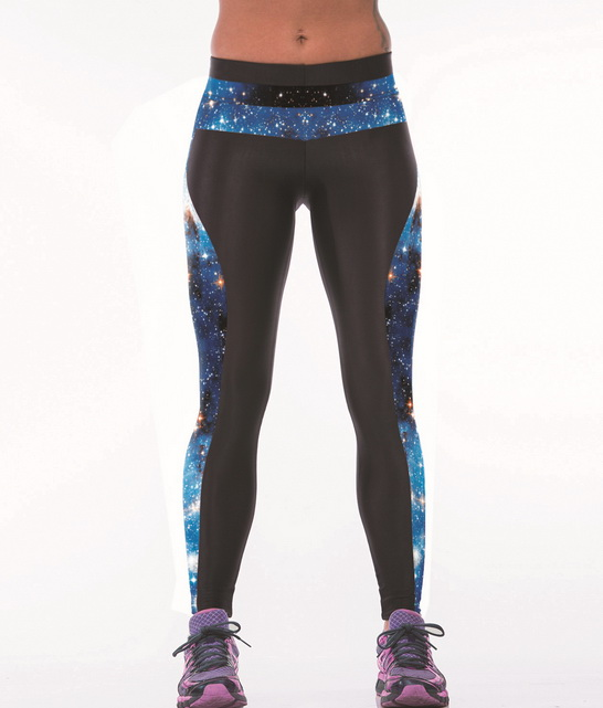 bf76bfb7b4878 Women Fitness Yoga Pants 3D universe sky Digital Printing Breathable  Absorbent Yoga Leggings Tall Waist Outdoor Running Pants on Aliexpress.com  | Alibaba ...