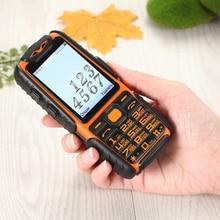 Резиновая Dual Sim факел большой ключ вождение автомобиля Регистраторы портативное зарядное устройство, длительный режим ожидания 9800 мАч открытый противоударный прочный мобильный телефон M6