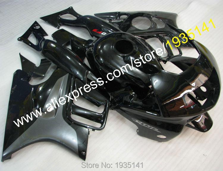 Горячие продаж,для Honda CBR600 F3 в 1997-1998 ЦБ РФ 600 F3 97-98 CBRF3 серый черный спортивный мотоцикл Обтекатели (литье под давлением)