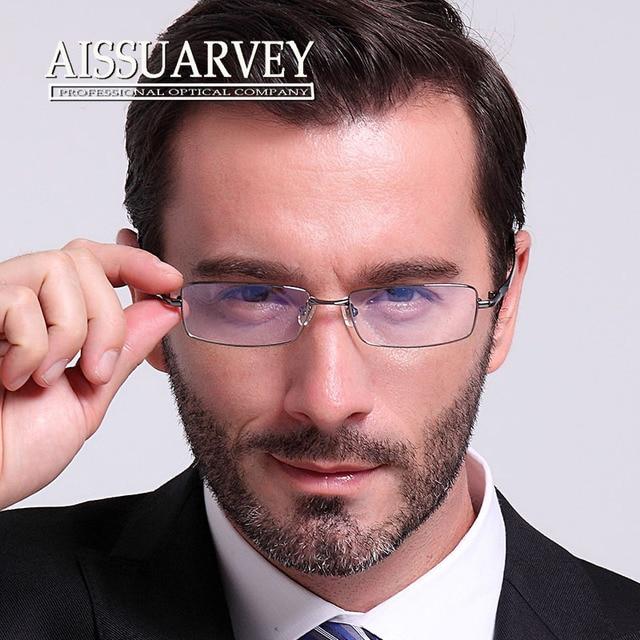 396c18c7b3d Men Eyeglasses Frame Optical Eyewear Myopia Prescription Glasses Frame Clear  Lenses Full Rim Best Price Fashion Simple Cheap