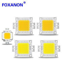 1 piezas 10 W 20 W 30 W 50 W 100 W de alta potencia Chip integrado LED IC lámpara 24 * 44Mil SMD Taiwán LED COB Chips Luz de inundación(China)