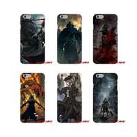De moda de Bloodborne juegos para iPhone X XR XS MAX 4 4S 5 5S 5C SE 6 6 S 7 8 fundas para teléfono más accesorios