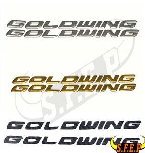 Наклейки для мотоцикла, 3D наклейка, эмблема, Значки для Honda GOLDWING GL1800, наклейка