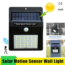 Led Solar Night Light PIR Motion Sensor Wall Light Waterproof 16/20/25/30 LEDs Energy Saving Outdoor Garden Security Solar Lamp