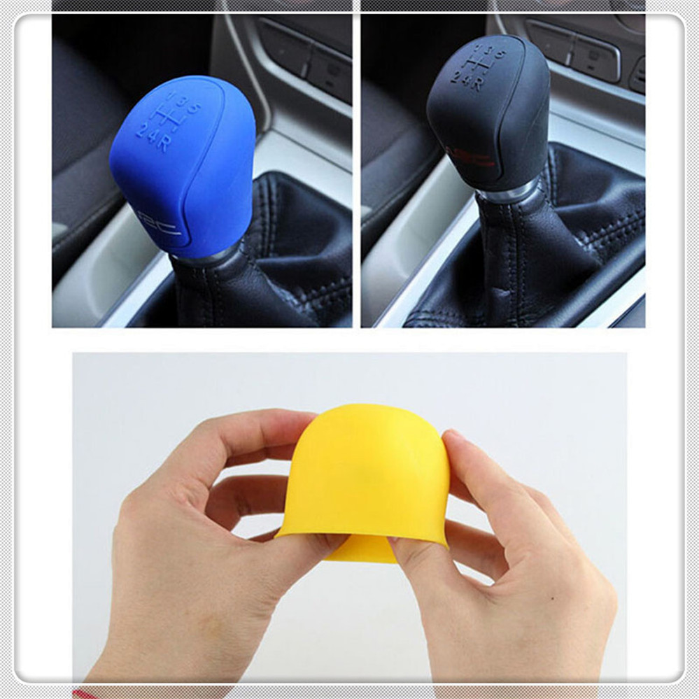 Car Shift  Handbrake Stall Cover For Ford Focus MK2 MK3 MK4 Kuga Escape Fiesta Ecosport Mondeo Fusion Transit B-MAX