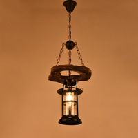 Nordic черный ржавчины промышленные подвесные светильники E27 держатель Лофт подвесной гладить абажур Home Attic подвесной светильник