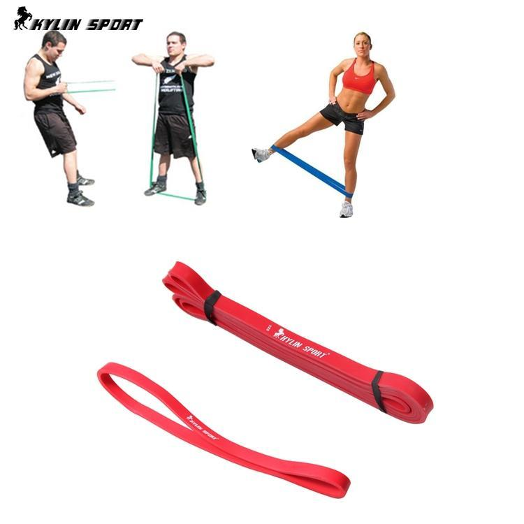 US $9 99 |set of 2 red short resistance band fitnee exercise band elastic  belt for wholesale and kylin sport-in Resistance Bands from Sports &