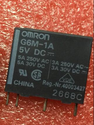 HOT NEW relay G6M-1A 5VDC G6M-1A-5VDC G6M-1A-5V G6M1A 5VDC 5V DC5V DIP4 20pcs/lot hot new relay hf6 73 5v hf6 relays 5v 5vdc dc5v 5v sop 2pcs lot