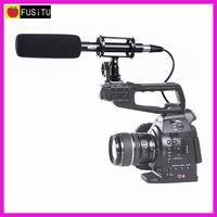3 Pin XLR Output on DSLR Cameras Pro BOYA BY PVM1000 Condenser Shotgun Video Camera Microphone