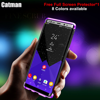 Catman caso BOBYT série metal de alumínio bumper case para Samsung Note8 quadro + PC armadura Duro para o Samsung Galaxy Note 8 capa caso
