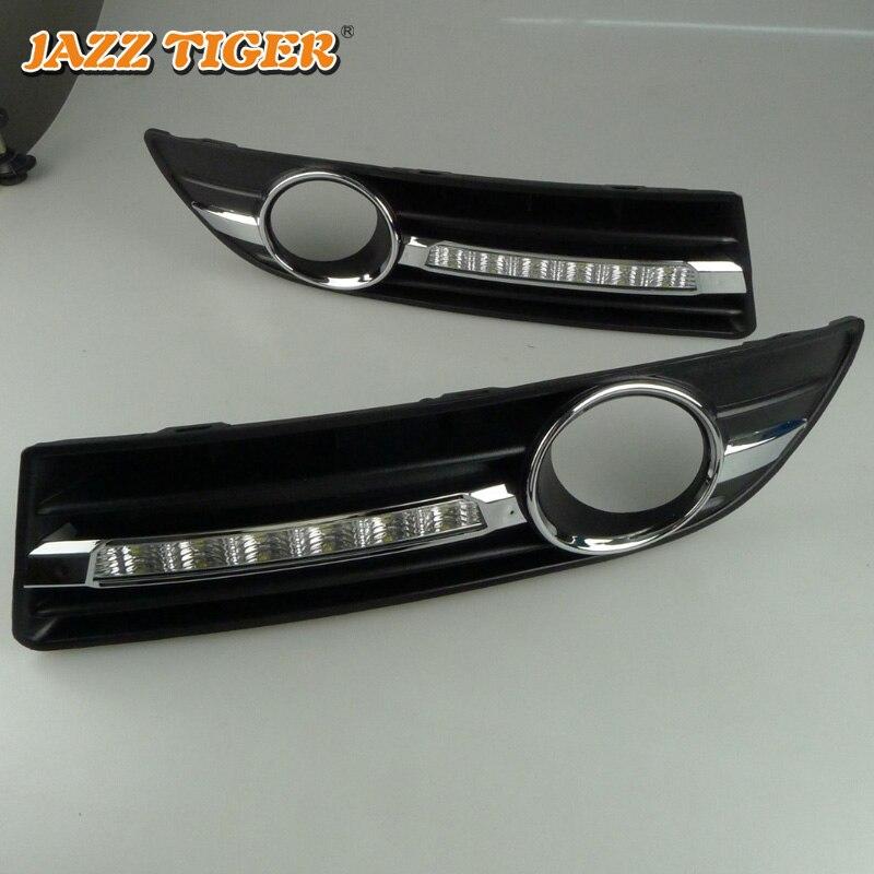 JAZZ TIGER 2kom Super automobilska svjetlost DRL lampica 12V dnevno - Svjetla automobila - Foto 2