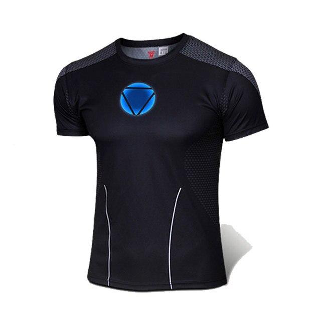 NUEVA alta Calidad 2014 Marvel Iron Man Reactor traje Camiseta de Los  Hombres EE.UU 6207c97add694