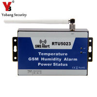 Cheap RTU5023 GSM Temperature Humidity Environment Alarm Power Failure Alarm Remote Monitoring Power Off Alarm APP