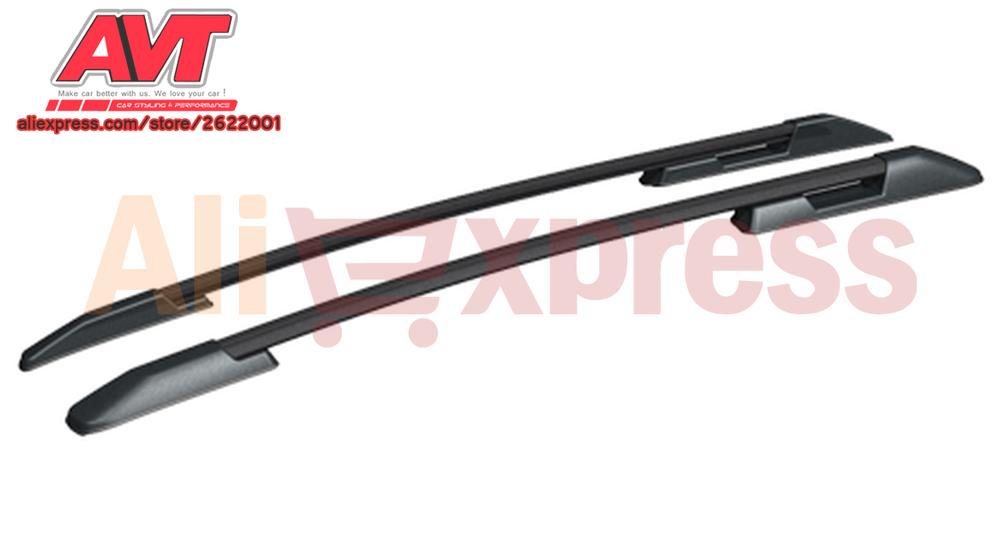 Roof rails for Hyundai Creta 2016-2017 car styling roof rack side rails bars a pair protective cover plastic ABS decoration