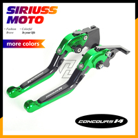 CNC Motorcycle Foldable Lever Motocross Brake Clutch Levers Case for Kawasaki GTR1400 CONCOURS 2007 2016