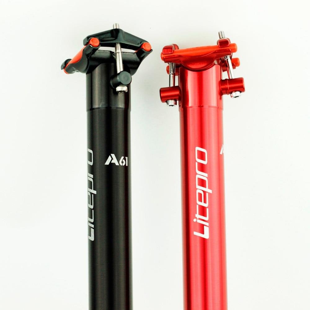Litepro A61 Aluminium Seatpost 33.9mm x 600mm For Dahon Birdy JAVA Folding Bike <font><b>Seat</b></font> Tube Ultra Light