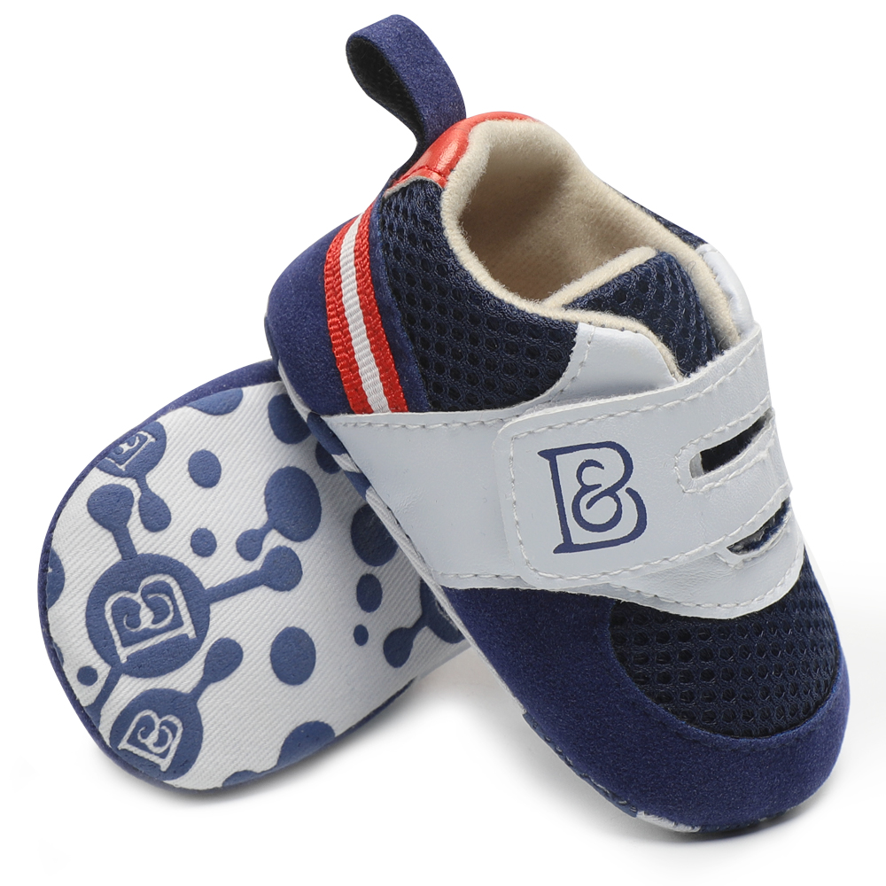 Spring Baby Shoes Infant Girls Firstwalkers Synthetic PU Anti-slip Sole 0-18M