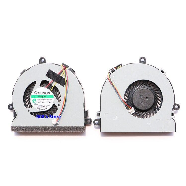 Новый Процессор охлаждающий вентилятор для Dell Inspiron 15R 15- 3521 3721 5521 5535 5721 5737 3537 3737 5537 5735 EF60070S1-C050-G99 5V 1,90 W