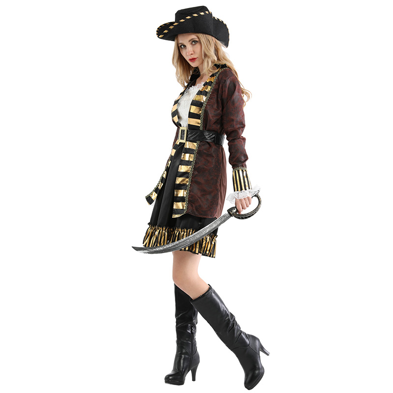 Adult Women Pirates of the Caribbean Halloween Costume 3