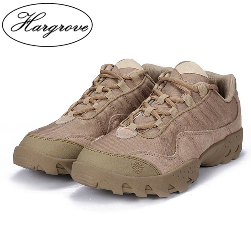 ESDY Outdoor Desert Boots shoes The U.S Military Assault Tactical casual Breathable Wear Slip Men Casual Travel shoes Zapatos