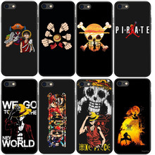 ONE PIECE Phone Case Japanese Anime Luffy Zoro Back Cover Coque For Apple iphone 7 8 plus 6S X 5 6 5S SE XS MAX XR Soft TPU Capa(China)