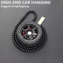 Авто украшение подвеска для автомобиля колесо брелок для ключей зеркало автомобиля подвесное украшение брелок Подвеска для автомобиля подвесное