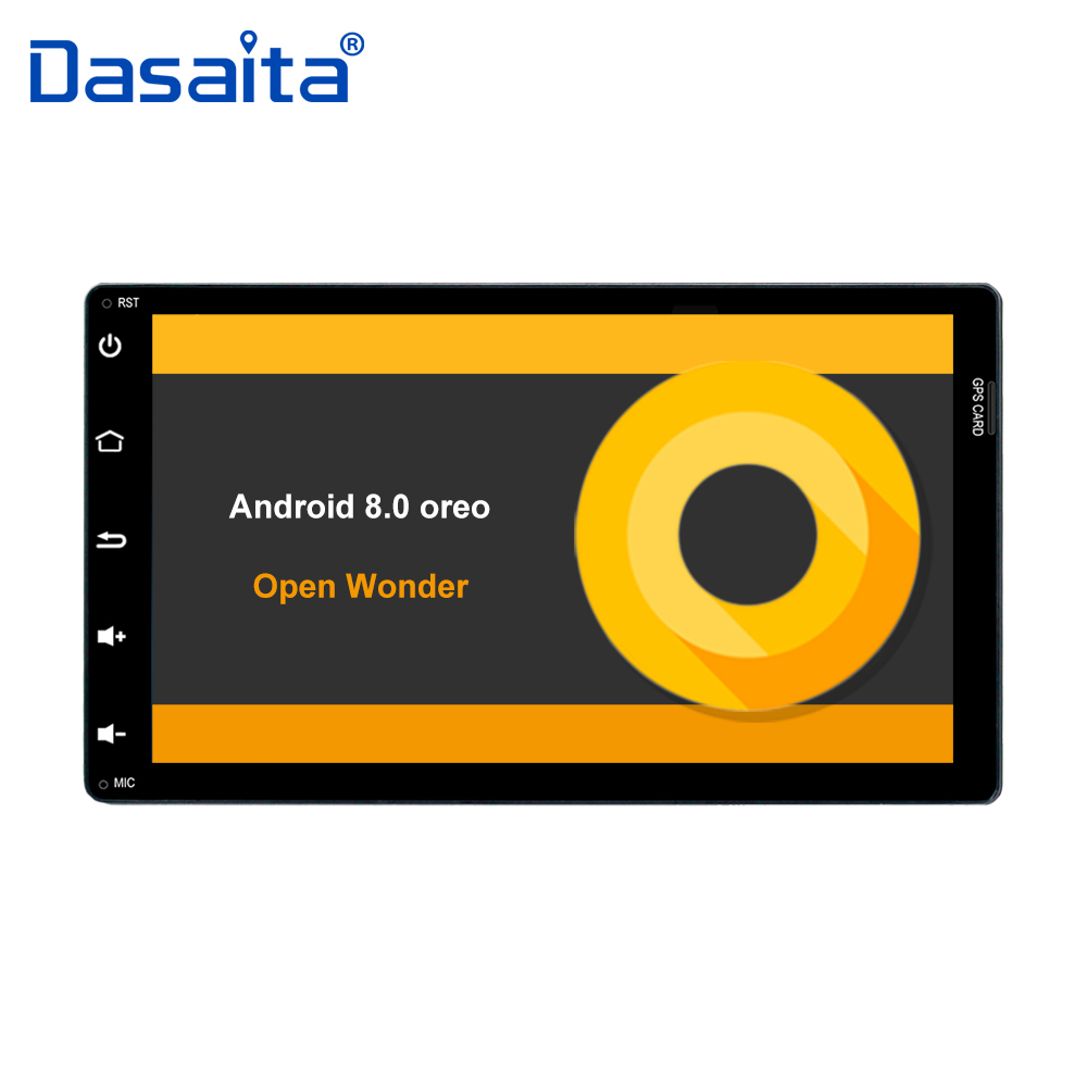 2 din Android 8.0 autoradio pour Toyota Corolla Auris Fortuner 2017 avec 9 affichage Octa Core 4G + 32G ROM GPS navigator