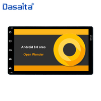 2 din Android 8.0 car radio for Toyota Corolla Auris Fortuner 2017 with 9 display Octa Core 4G + 32G ROM GPS navigator