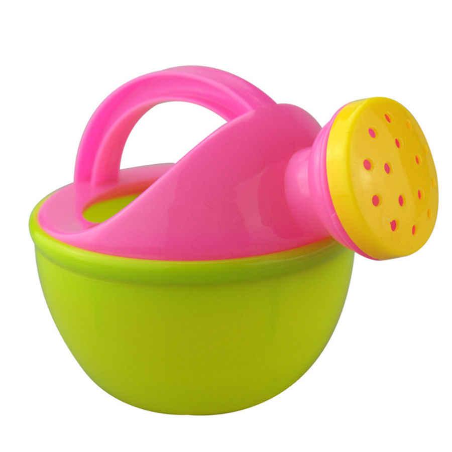 LeadingStar الطفل حمام لعبة مرشة من البلاستيك سقي وعاء لعبة للشاطئ اللعب الرمال لعبة هدية للأطفال عشوائي اللون zk49