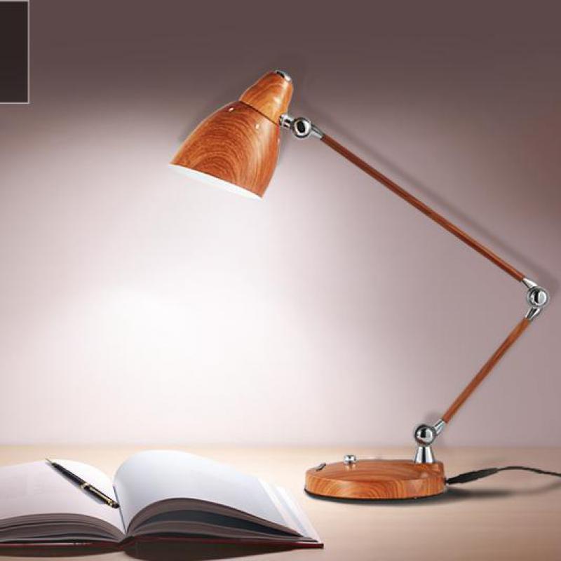 Student 1 Pcs Learning Table Light Home Office Led Desk Lamp Library Reading Lamp E27 Desk Work Lamp Brown Iron Led Tafellamp Led Table Lamps Aliexpress