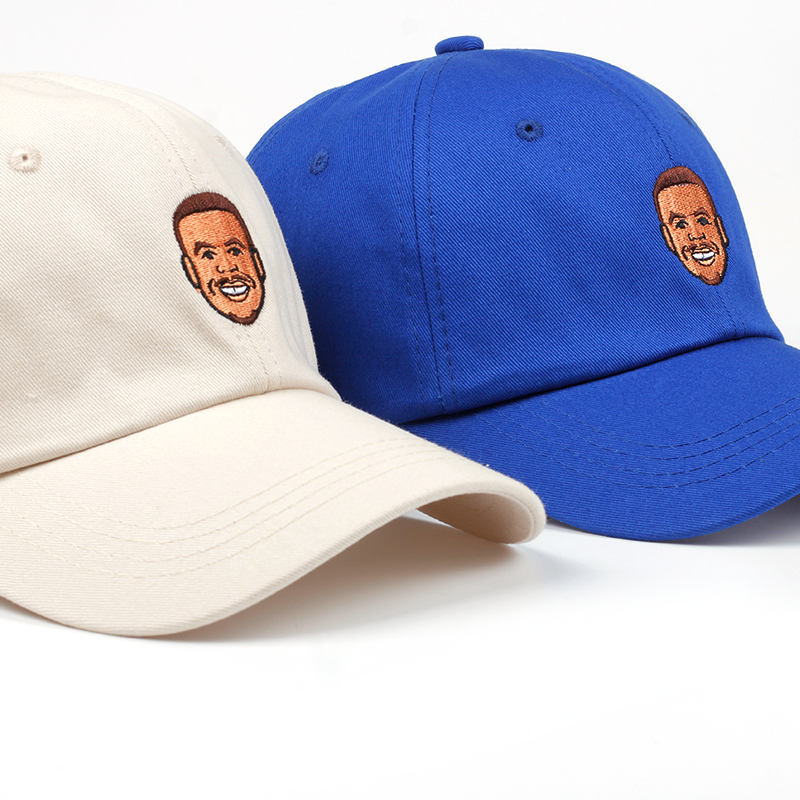 760c397f6e943 Pure Cotton Stephen Curry Dad Hat Embroidery Men Women Baseball Cap Curry  Snapback Hat Bone Garros High Quality Cap no structure-in Baseball Caps  from ...