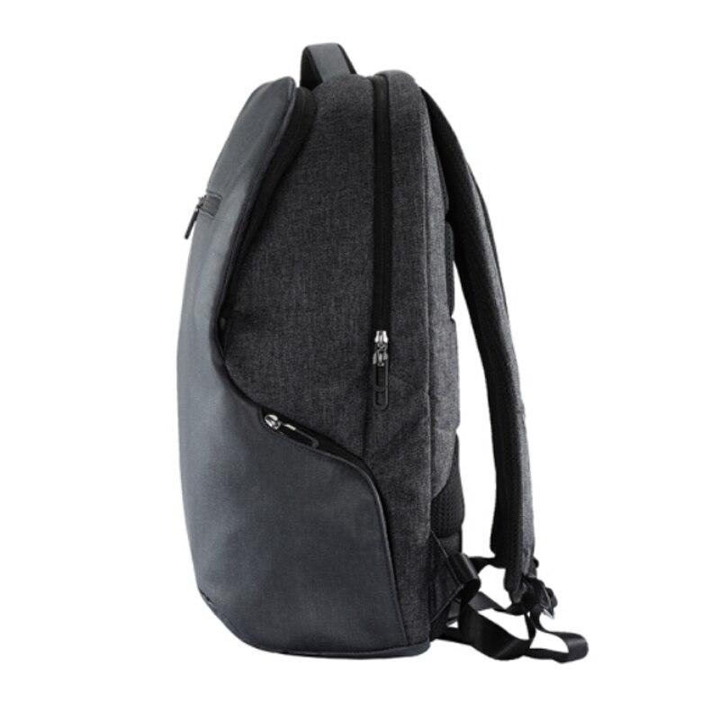 Simple Patchwork de gran capacidad para hombre mochila de cuero para viaje Casual mochila para hombre mochila de viaje de cuero - 2
