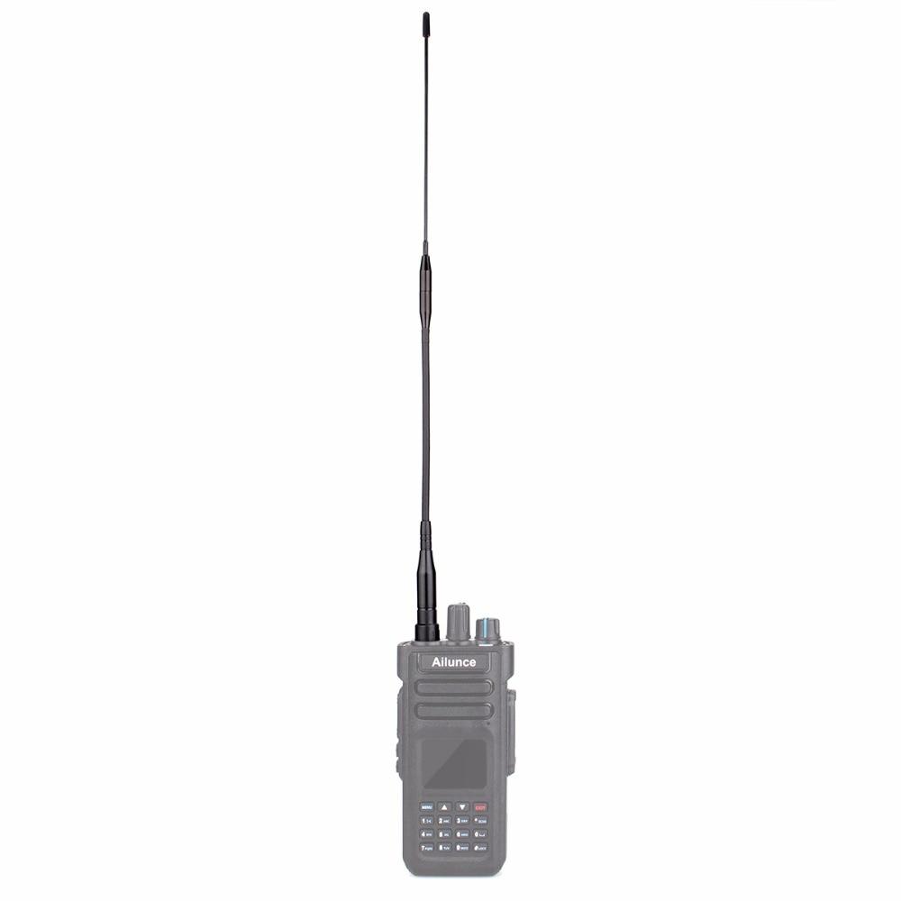 Dual Band SMA-F High Gain Long Antenna VHF/UHF 360mm For Ailunce HD1/Retevis RT29 DMR Ham Radio Amador Walkie Talkie J9131D