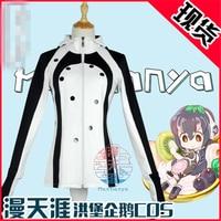 Anime çünkü kemono arkadaşlar hayvan arkadaşlar penguen çünkü ceket + eldiven + çorap + şapkalar + kuyruk Cosplay Kostüm + ücretsiz Kargo G