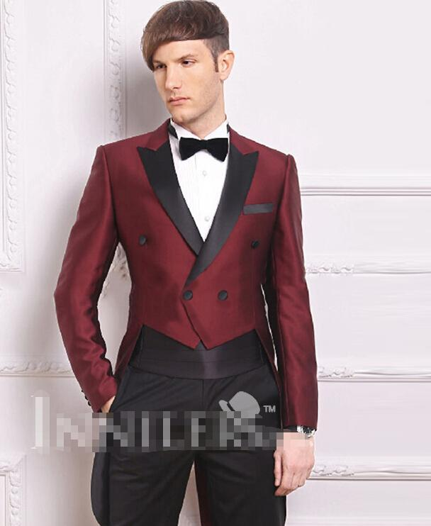 Online Get Cheap Men's Burgundy Blazer -Aliexpress.com ...