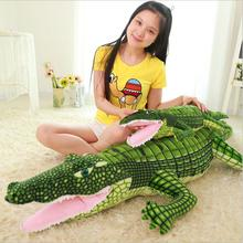 Big Size New Arrival Crocodile Plush toy Stuffed Animal Doll Soft Toy Pillow Cushion Christmas Gift loveyle super soft whale plush toy cartoon animal fish stuffed doll baby sleeping pillow cushion kid girlfriend christmas gift
