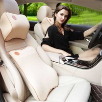 Car Neck Pillow & Seat Support Headrest Business Style Memory Foam Cushion for Toyota Rav4 VW Ford kia Mazda And Offfice Chair