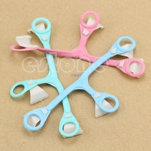 2017  Portable Buckle Nappy Fasteners Pins Plastic Diaper Baby Newborn Safety New 3pcs  APR14_30