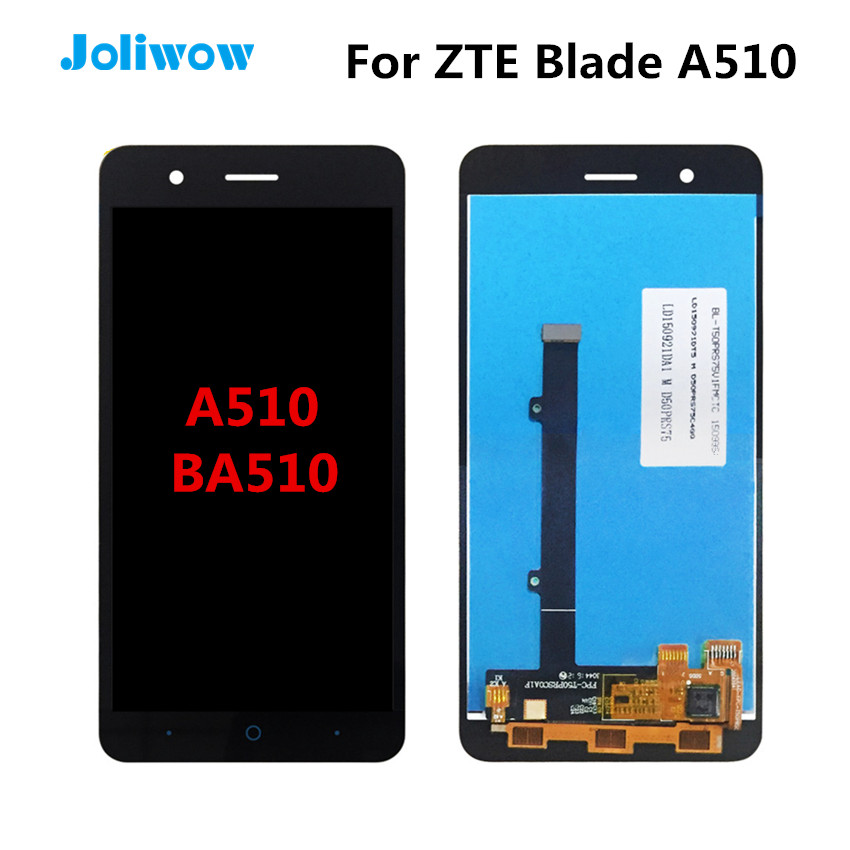 Tested! For ZTE Blade A510 BA510 LCD Display With Touch Screen Digitizer Assembly Replacement Parts 5.0For