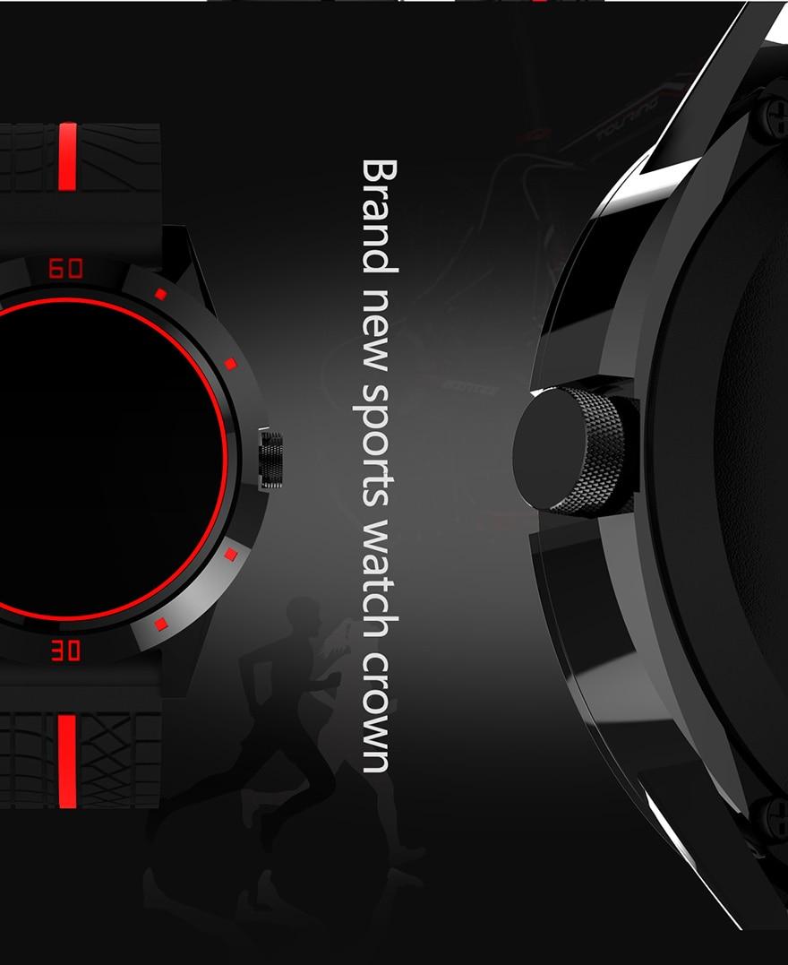 MICORSAX Men Smartwatches M6 Business Watch Bluetooth Phone Heart Rate Smart Bracelet with  MP3 Pedometer Sport Fitness Tracker